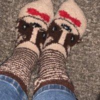 Fuzzy Doggo Socks
