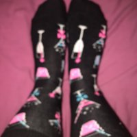 CUTE used cocktail socks 5 DAYS …