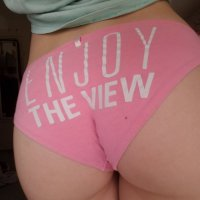VS *Enjoy The View* Pink Panties