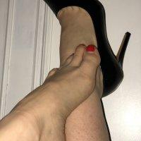 Scarpe con tacco a spillo usate