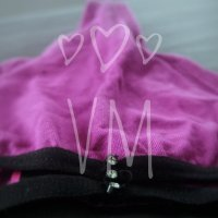 Pink cotton thong well worn and …