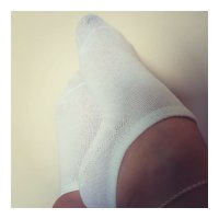 Smelly White Sock Liners