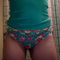 Bright Multicolored Thong