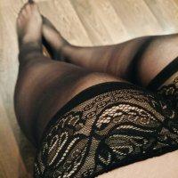 🤤 medias negras con encaje ♥️…